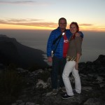 Us at Sunset on Table Mountain