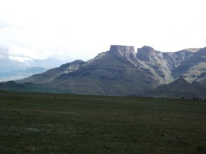 Side view of Cathkin Peak