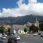 The Tablecloth, the cloud covering often seen on Table Mountain