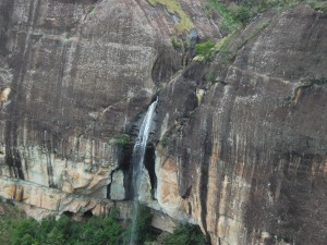 Waterfall from the air