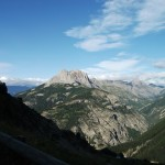 view near the top of the col d'Allos